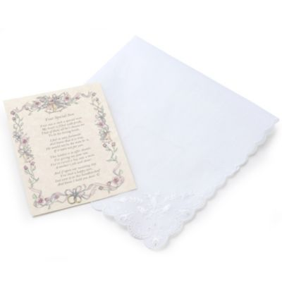 Lady's Embroidered Handkerchief