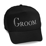 Black Groom Hat