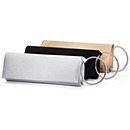 Satin Evening Clutch Bag