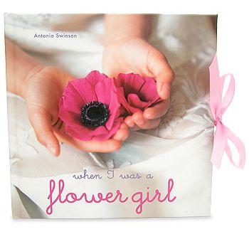 Flower Girl Memory Book