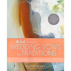 the knot guide to wedding vows and traditions