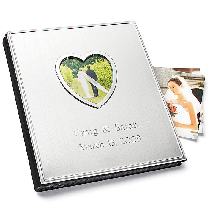 Satin Album with Open Heart