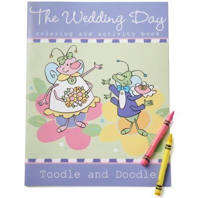 Wedding Day Activity Book