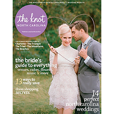 the knot north carolina weddings magazine
