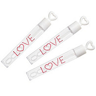 LOVE Bubble Tubes - White/Pink