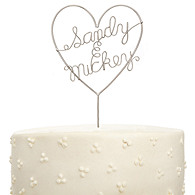 Sweetheart Cake Topper