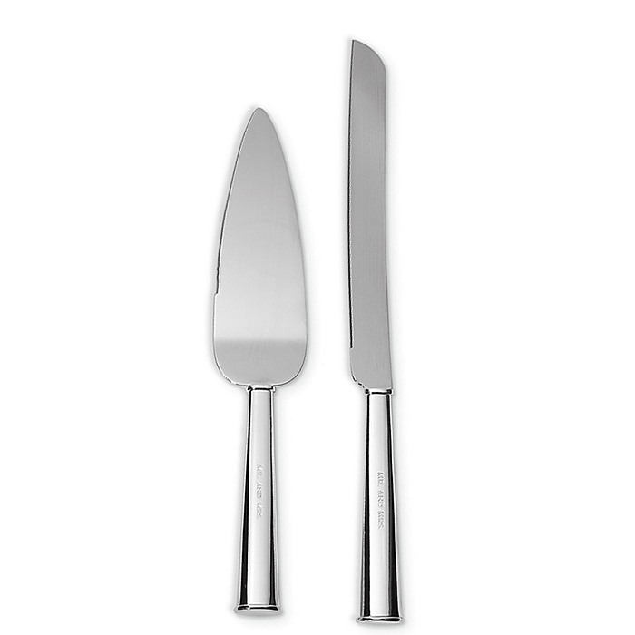 kate spade new york darling point cake knife and server set