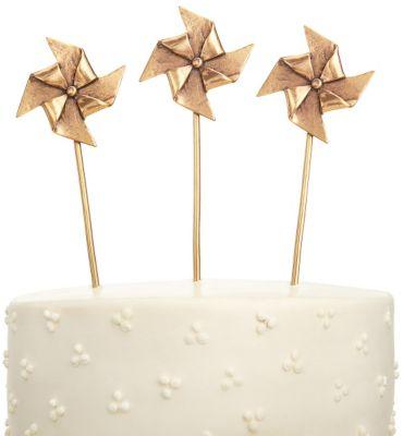 Pinwheels Cake Topper