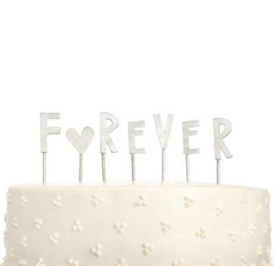 Forever Cake Topper