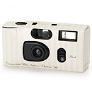 Pastel Stripe Camera - Green
