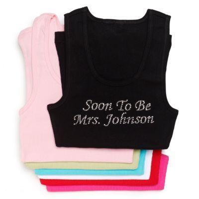 Soon to Be Mrs. Rhinestone Tank