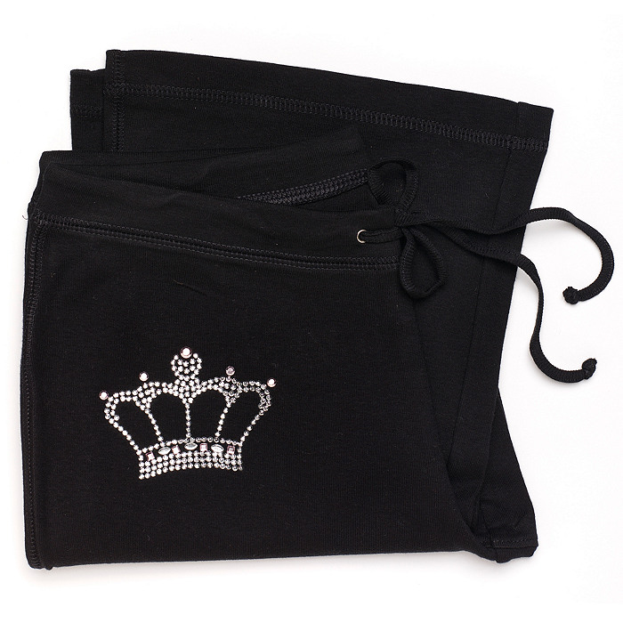 Personalized Mrs. Rhinestone Pant With Crown