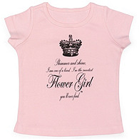 Shimmer and Shine Flower Girl Tee
