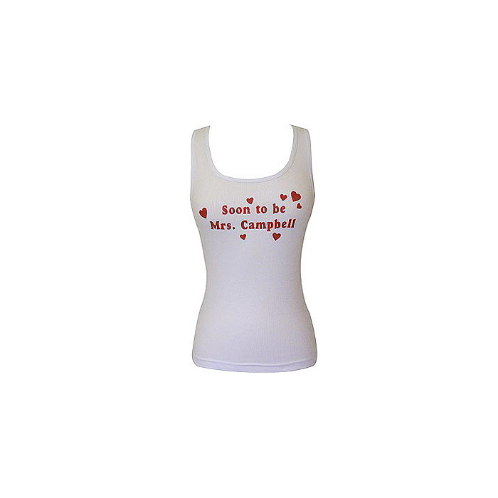 Hearts Ribbed Tank
