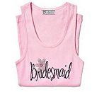 Bling in Bloom Bridesmaid Tank