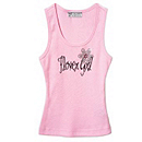 Bling in Bloom Flower Girl Tank
