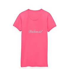 Crystal Bridesmaid Tee