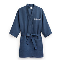 Bridesmaid Waffle Weave Kimono Robe