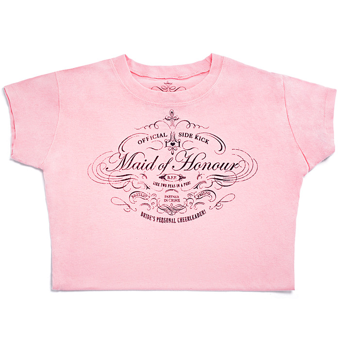 Maid of Honour Vintage Tee