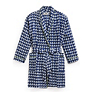Short Cotton Robe
