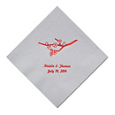 Personalized Napkins - BEVERAGE (Cherry Blossom)