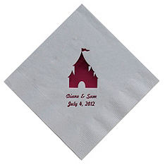 Personalized Napkins - BEVERAGE (Castle)