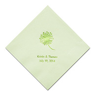 Personalized Napkins - DINNER (Dandelion)