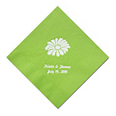 Personalized Napkins - DINNER (Daisy)
