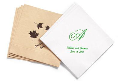 Personalized Eco-Friendly Napkins - BEVERAGE