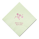Personalized Napkins - DINNER (Forget Me Not)