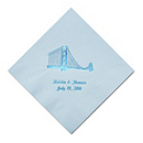 Personalized Napkins - BEVERAGE (Golden Gate)