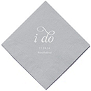 Personalized Napkins - LUNCHEON (I Do)