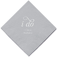 Personalized Napkins - DINNER (I Do)