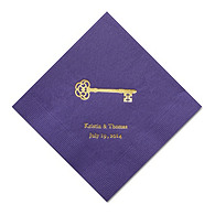 Personalized Napkins - DINNER (Key)