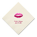 Personalized Napkins - BEVERAGE (Lips)