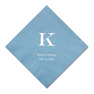 Personalized Napkins - DINNER (Classic Monogram)