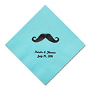 Personalized Napkins - BEVERAGE (Mustache)