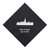Personalized Napkins - DINNER (New York)
