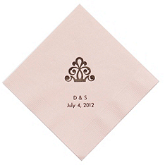 Personalized Napkins - BEVERAGE (Regal)