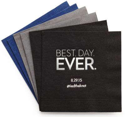 Personalized Quotable Napkins - Beverage