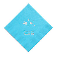Personalized Napkins - BEVERAGE (Stars)