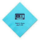 Personalized Napkins - BEVERAGE (Cassette)