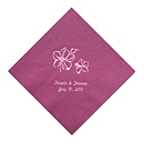 Personalized Napkins - DINNER (Tiger Lily)
