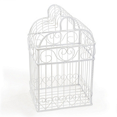 Birdcage Wedding Card Holder