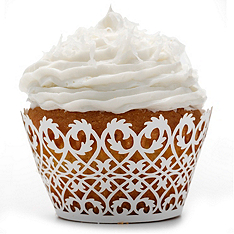 Filigree Cupcake Wrappers
