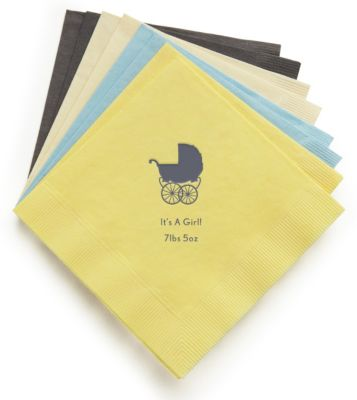 Personalized Luncheon Napkins - Baby
