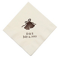Personalized Napkins - LUNCHEON (Bells)