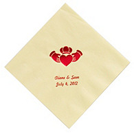 Personalized Napkins - LUNCHEON (Claddagh)