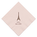 Personalized Napkins - LUNCHEON (Paris)