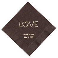 Personalized Napkins - LUNCHEON (Love)